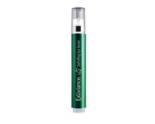 Наполняющая сыворотка для кожи вокруг глаз в тубе с роликовым аппликатором Exuviance DePuffing Eye Serum, 6 мл