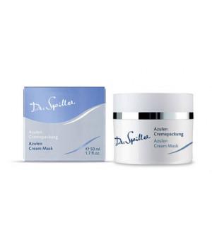 Успокаивающая маска с азуленом для сухой и чувствительной кожи Azulen Cream Mask, 50 мл