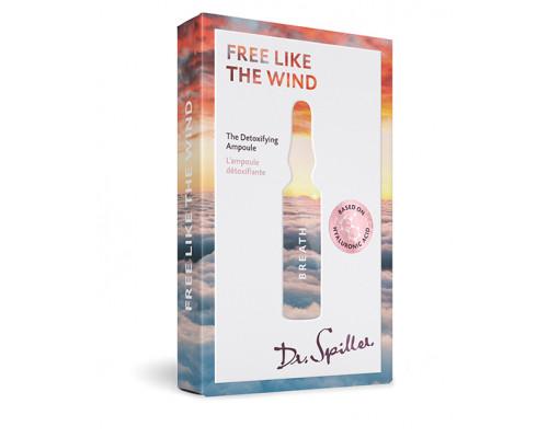 Ампульный концентрат с детокс-эффектом «Вольный ветер» The Detoxifying Ampoule «FREE LIKE THE WIND», 7 x 2 мл