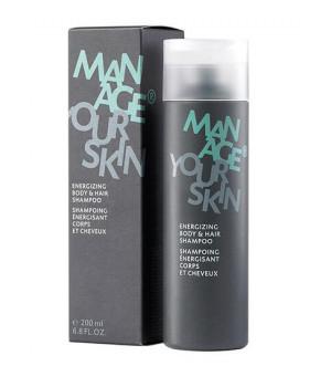 Шампунь для тела и волос Energizing Body & Hair Shampoo, 200 мл