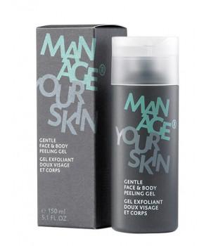 Мягкий скраб для лица и тела Gentle Face & Body Peeling Gel, 150 мл