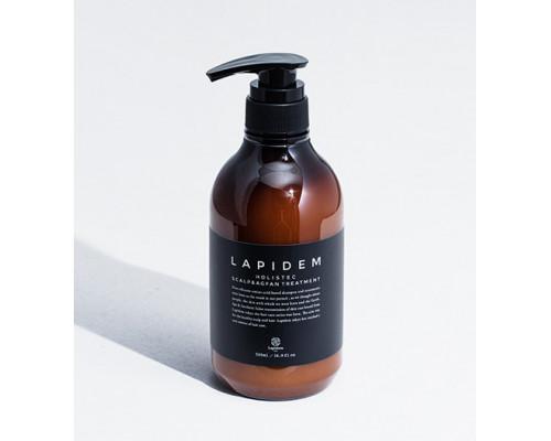Холистический кондиционер для скальпа и волос Пять Элементов LAPIDEM S&A TREATMENT, 500 мл